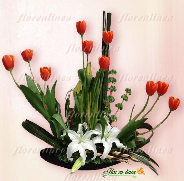 Arreglo de Tulipanes 03