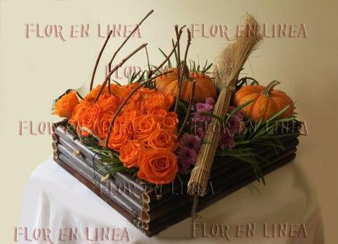 Arreglo Floral de Halloween 01