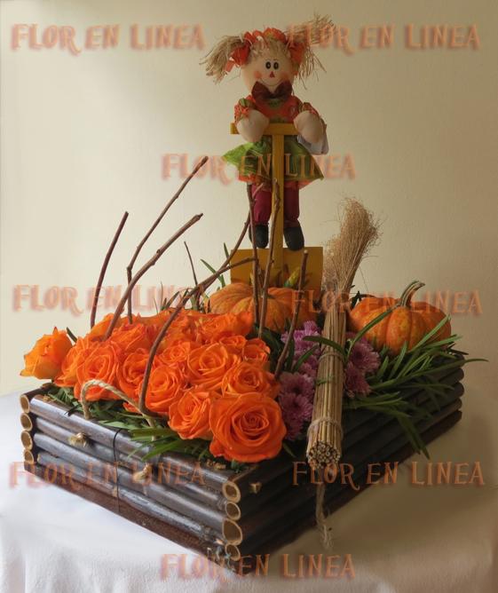 Arreglo Floral de Halloween 02