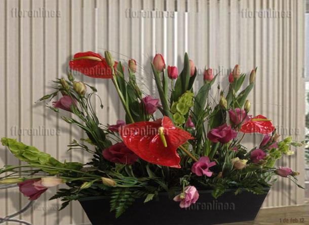 Arreglo de tulipanes 05
