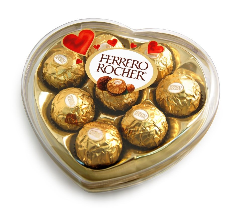 Chocolates Ferrero Corazon