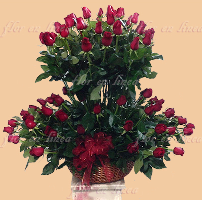 Canasta de Rosas 03