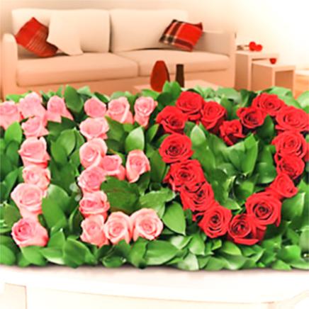 Arreglo de Rosas Te Amo